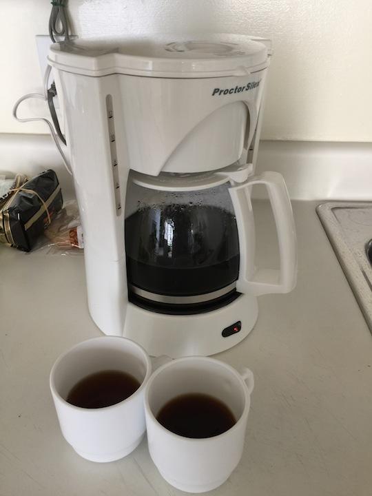 アストンワイキキバニアン:キッチン、コーヒーメーカー