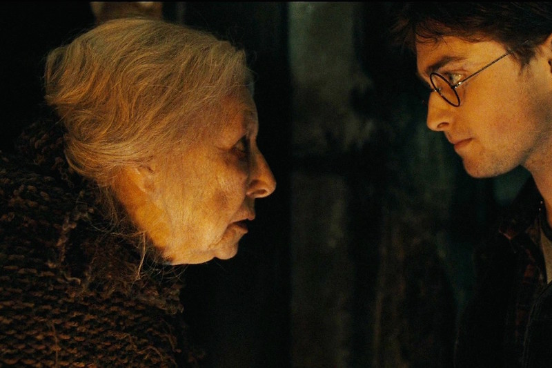 ハリーポッターとお婆さんと恐怖のクリスマス。