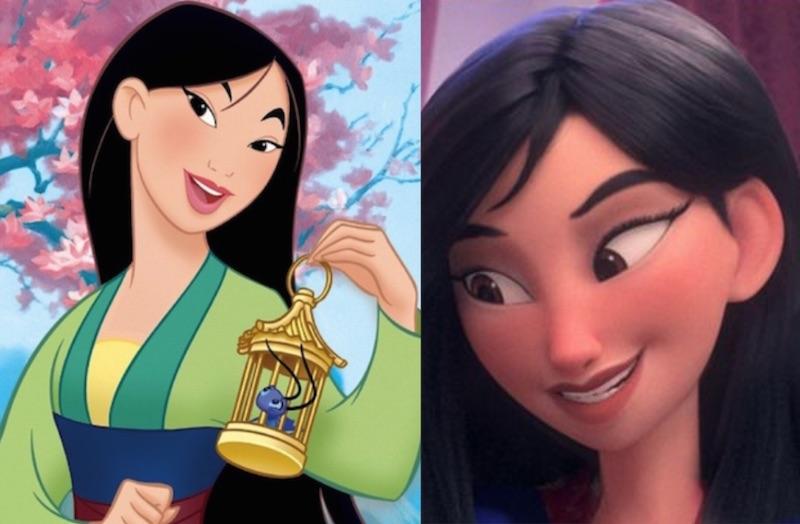ムーラン 黒人やアジア人プリンセスが白人化?シュガーラッシュオンライン